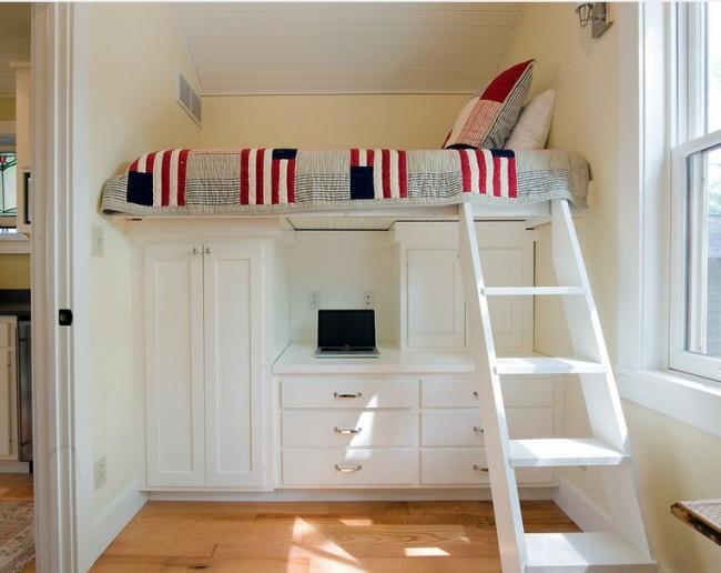 Элементы декора, мебель или текстиль - все это отлично поможет разбавить светлую цветовую гамму вашей комнаты, внести красок и яркости в обыденную жизнь