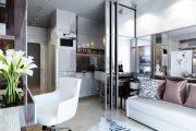 Фото 9 Дизайн квартиры-студии: 80 трендов для создания современного и мультифункционального интерьера
