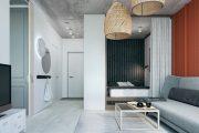 Фото 11 Дизайн квартиры-студии: 80 трендов для создания современного и мультифункционального интерьера