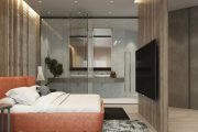 Фото 14 Дизайн квартиры-студии: 80 трендов для создания современного и мультифункционального интерьера
