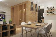 Фото 15 Дизайн квартиры-студии: 80 трендов для создания современного и мультифункционального интерьера