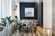 Фото 7 Дизайн квартиры-студии: 80 трендов для создания современного и мультифункционального интерьера