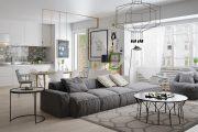 Фото 18 Дизайн квартиры-студии: 80 трендов для создания современного и мультифункционального интерьера