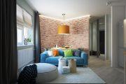 Фото 22 Дизайн квартиры-студии: 80 трендов для создания современного и мультифункционального интерьера
