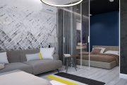 Фото 28 Дизайн квартиры-студии: 80 трендов для создания современного и мультифункционального интерьера