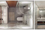 Фото 29 Дизайн квартиры-студии: 80 трендов для создания современного и мультифункционального интерьера