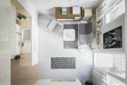 Фото 42 Дизайн квартиры-студии: 80 трендов для создания современного и мультифункционального интерьера
