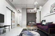 Фото 36 Дизайн квартиры-студии: 80 трендов для создания современного и мультифункционального интерьера