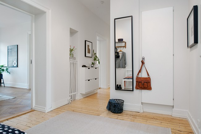обои для коридора в квартире в фото