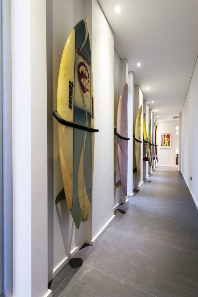 Оригинальный способ создать неординарную коллекцию просто в своем коридоре