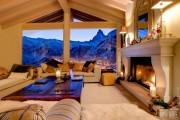 Фото 19 Дома в стиле шале: 55 лучших воплощений эстетики Альп в интерьере