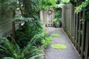 Фото 6 Дизайн двора частного дома: создаем уютное и функциональное пространство своими руками