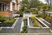 Фото 7 Дизайн двора частного дома: создаем уютное и функциональное пространство своими руками