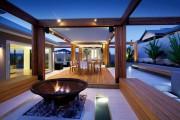 Фото 14 Дизайн двора частного дома: создаем уютное и функциональное пространство своими руками