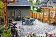 Фото 20 Дизайн двора частного дома: создаем уютное и функциональное пространство своими руками