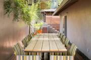 Фото 15 Дизайн двора частного дома: создаем уютное и функциональное пространство своими руками