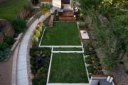 Фото 16 Дизайн двора частного дома: создаем уютное и функциональное пространство своими руками