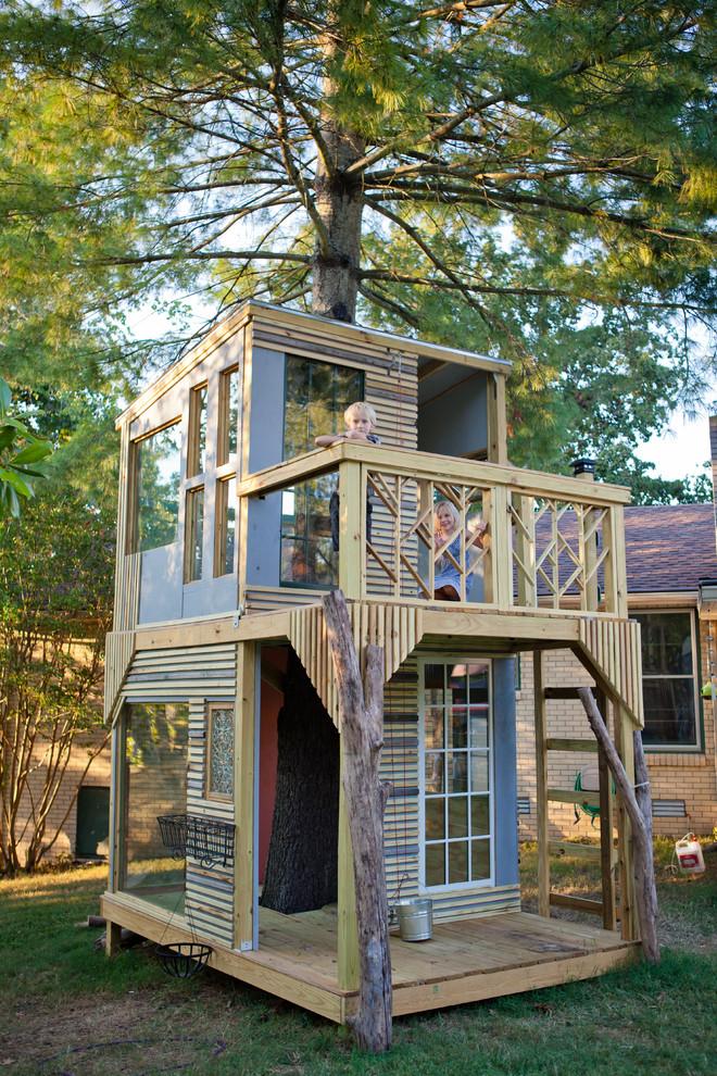Как сделать дом с дерева
