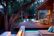 Фото 19 Дизайн двора частного дома: создаем уютное и функциональное пространство своими руками