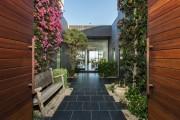 Фото 25 Дизайн двора частного дома: создаем уютное и функциональное пространство своими руками