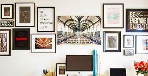 Выбираем картины для интерьера: 50+ идей размещения постеров, диптихов и репродукций фото