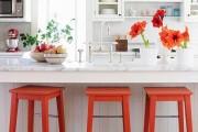 Фото 1 Коралловый цвет в интерьере: 70 теплых и гармоничных сочетаний для дома