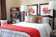 Фото 5 Коралловый цвет в интерьере: 70 теплых и гармоничных сочетаний для дома