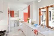 Фото 15 Коралловый цвет в интерьере: 70 теплых и гармоничных сочетаний для дома