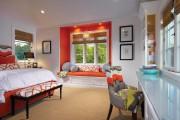 Фото 17 Коралловый цвет в интерьере: 85+ теплых и гармоничных сочетаний для дома