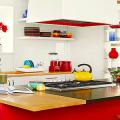 Кухни красного цвета: 50 самых трендовых и сочных решений для тех, кто не боится экспериментировать фото