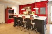 Фото 3 Кухни красного цвета: 50 самых трендовых и сочных решений для тех, кто не боится экспериментировать