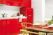 Фото 6 Кухни красного цвета: 50 самых трендовых и сочных решений для тех, кто не боится экспериментировать