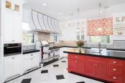 Фото 10 Кухни красного цвета: 50 самых трендовых и сочных решений для тех, кто не боится экспериментировать