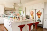 Фото 25 Кухни красного цвета: 50 самых трендовых и сочных решений для тех, кто не боится экспериментировать