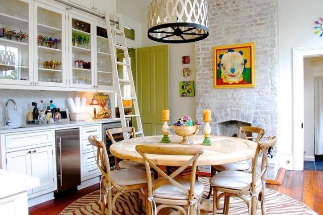 Стиль эклектика сделает вашу кухню неповторимой и уютной