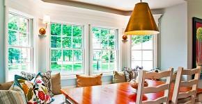Кухня с эркером: 50 наиболее уютных дизайнерских решений для дома фото