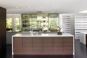 Фото 4 Кухня венге: эстетика аристократизма и обзор модных дизайнерских тенденций