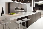 Фото 16 Кухня венге: эстетика аристократизма и обзор модных дизайнерских тенденций