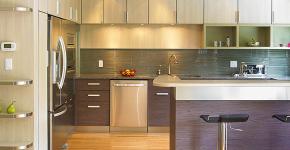 Кухня в стиле модерн: дизайн, подбор декора и 45 самых актуальных идей для дома фото