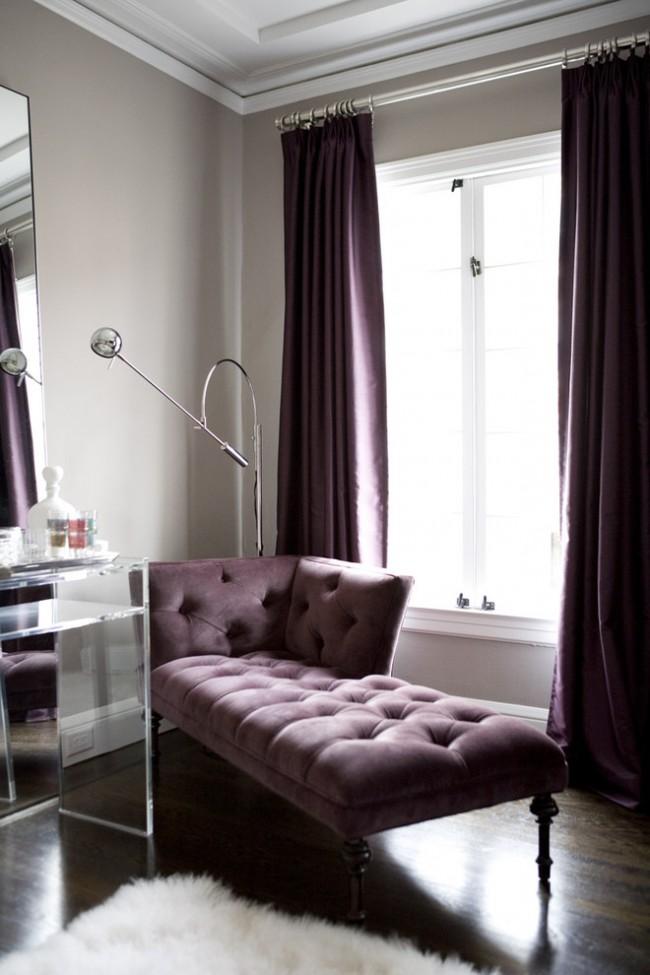 Цветовая композиция текстиля и мебели