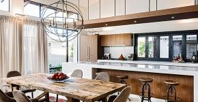 Обеденные зоны: хитрости правильного зонирования и оформления для кухни фото