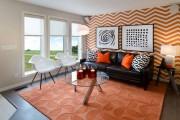 Фото 21 Обои в гостиную: как не ошибиться с выбором и 45+ лучших дизайнерских вариантов