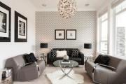 Фото 15 Обои в гостиную: как не ошибиться с выбором и 45+ лучших дизайнерских вариантов
