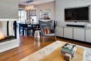 Фото 17 Обои в гостиную: как не ошибиться с выбором и 45+ лучших дизайнерских вариантов