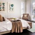 Обои для спальни: как определиться и 50 актуальных трендов для стильного интерьера фото