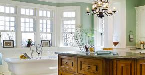 Освещение в ванной комнате: выбираем оптимальный световой сценарий фото
