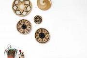Фото 8 Декор стен своими руками: 55 дизайнерских идей для запоминающегося интерьера