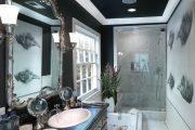 Фото 13 Плинтус для натяжного потолка: виды конструкций и 60+ фото стильных воплощений в интерьере