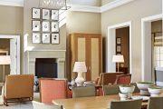 Фото 16 Плинтус для натяжного потолка: виды конструкций и 60+ фото стильных воплощений в интерьере
