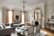 Фото 23 Плинтус для натяжного потолка: виды конструкций и 60+ фото стильных воплощений в интерьере